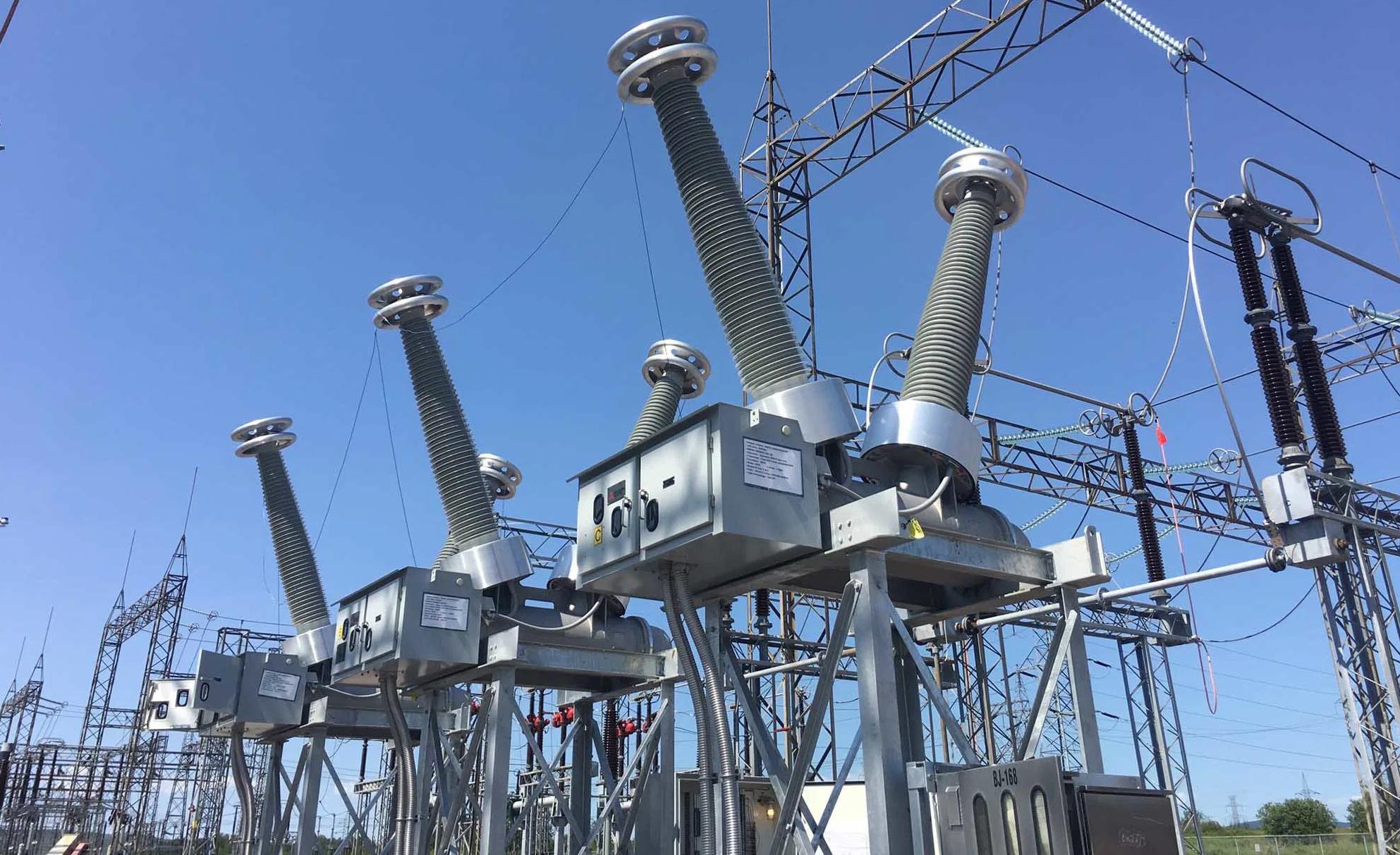 Equipo Eléctrico Primario en una subestación eléctrica
